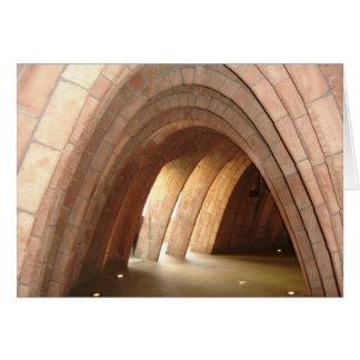 Europe Gaudi Architecture Card