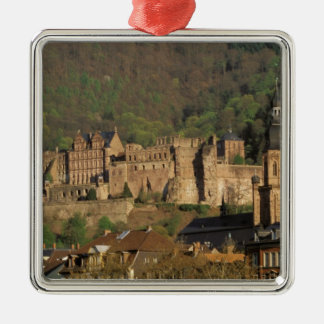Europe, Germany, Heidelberg. Castle Christmas Ornament