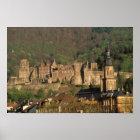 Europe, Germany, Heidelberg. Castle Poster