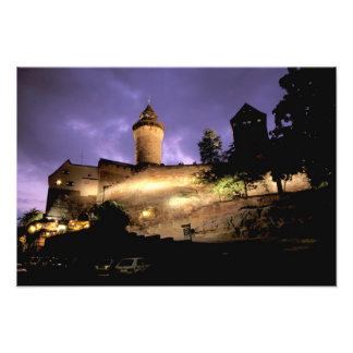Europe, Germany, Numberg, Imperial Castle Photo Print