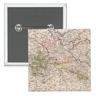 Europe, Germany, Poland 15 Cm Square Badge