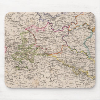 Europe, Germany, Poland Mouse Pad
