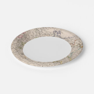 Europe, Germany, Poland 7 Inch Paper Plate