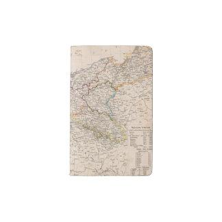 Europe, Germany, Poland Pocket Moleskine Notebook