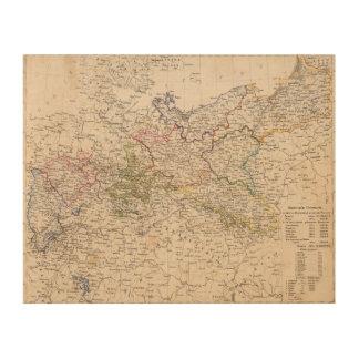 Europe, Germany, Poland Wood Prints