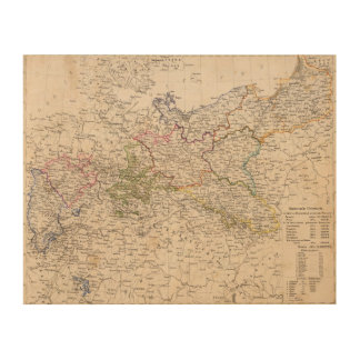Europe, Germany, Poland Wood Wall Art