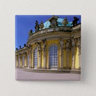 Europe, Germany, Potsdam. Park Sanssouci, 3 15 Cm Square Badge