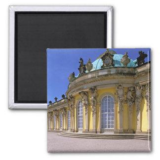 Europe, Germany, Potsdam. Park Sanssouci, 3 Square Magnet