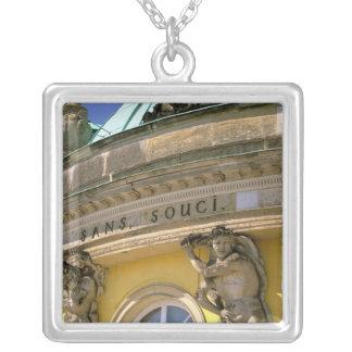 Europe, Germany, Potsdam. Park Sanssouci, Silver Plated Necklace