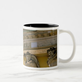 Europe, Germany, Potsdam. Park Sanssouci, Two-Tone Coffee Mug