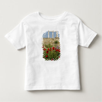 Europe, Greece, Cyclades, Delos. Column ruins. 2 Toddler T-Shirt