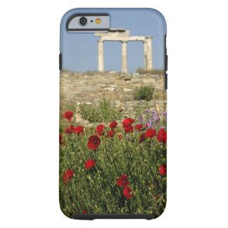 Europe, Greece, Cyclades, Delos. Column ruins. 2 Tough iPhone 6 Case