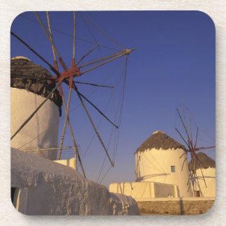 Europe Greece Cyclades Islands Mykonos 2 Beverage Coaster