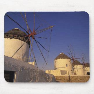 Europe Greece Cyclades Islands Mykonos 2 Mouse Pads