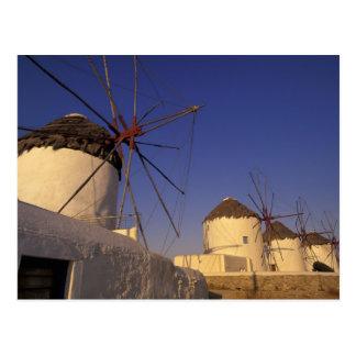 Europe, Greece, Cyclades Islands, Mykonos, 2 Postcard