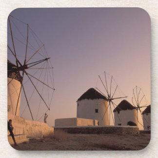Europe Greece Cyclades Islands Mykonos Coaster