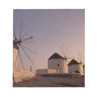 Europe, Greece, Cyclades Islands, Mykonos, Notepad
