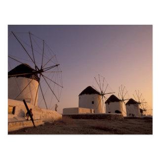 Europe Greece Cyclades Islands Mykonos Post Cards