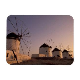 Europe, Greece, Cyclades Islands, Mykonos, Flexible Magnet