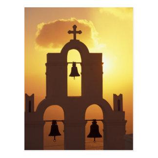 Europe, Greece, Cyclades Islands, Santorini, Postcard