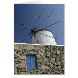 Europe, Greece, Mykonos. 2 Card