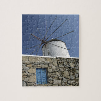 Europe, Greece, Mykonos. 2 Jigsaw Puzzle