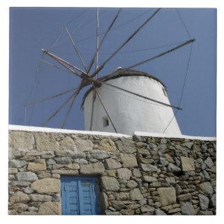 Europe, Greece, Mykonos. 2 Tile