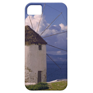 Europe, Greece, Mykonos. A striking white iPhone 5 Covers