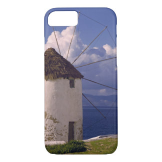 Europe, Greece, Mykonos. A striking white iPhone 8/7 Case