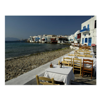 Europe, Greece, Mykonos. Views of the seaside Postcard