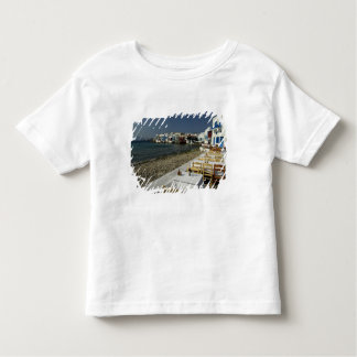 Europe, Greece, Mykonos. Views of the seaside Toddler T-Shirt