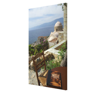 Europe, Greece, Peloponnese, Monemvasia (single Canvas Print