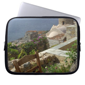Europe, Greece, Peloponnese, Monemvasia (single Laptop Sleeve