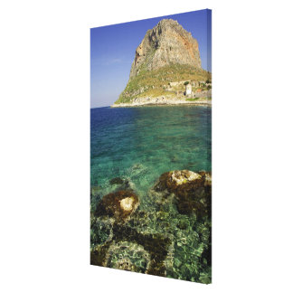 Europe, Greece, Peloponnese, Monemvasia. The Canvas Print
