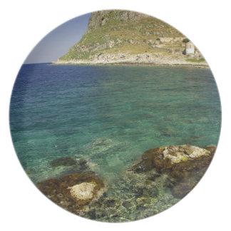 Europe, Greece, Peloponnese, Monemvasia. The Plate