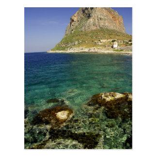 Europe, Greece, Peloponnese, Monemvasia. The Postcard