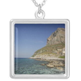 Europe, Greece, Peloponnese, Monemvasia. The Silver Plated Necklace
