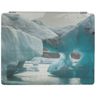 Europe, Iceland, JokUSArlon. Iceberg Formations iPad Cover