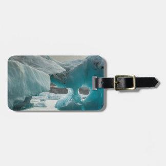 Europe, Iceland, JokUSArlon. Iceberg Formations Luggage Tag