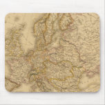Europe in 1789 mouse mats