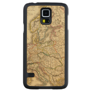 Europe in 1813 2 carved maple galaxy s5 case