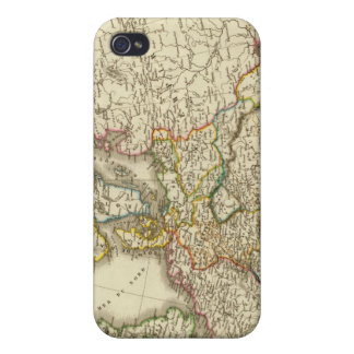 Europe in 1813 2 iPhone 4 case