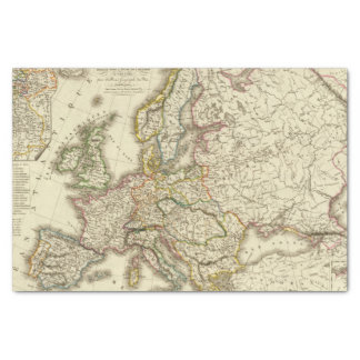Europe in 1813 2 tissue paper