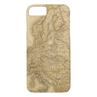 Europe in 1813 iPhone 8/7 case