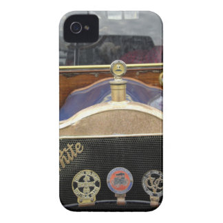 Europe, Ireland, Dublin. Vintage auto, White 2 iPhone 4 Case-Mate Cases