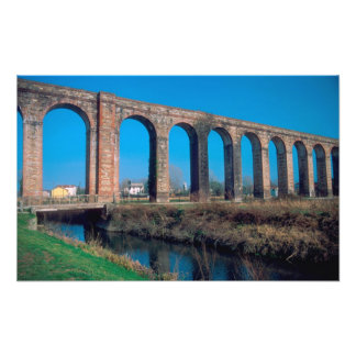 Europe, Italy. Aquaduct near Lucca. Photo Print