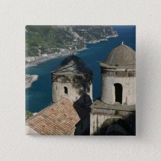 Europe, Italy, Campania, (Amalfi Coast), 3 15 Cm Square Badge