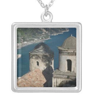Europe, Italy, Campania, (Amalfi Coast), 3 Silver Plated Necklace