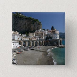 Europe, Italy, Campania, (Amalfi Coast), Amalfi: 15 Cm Square Badge