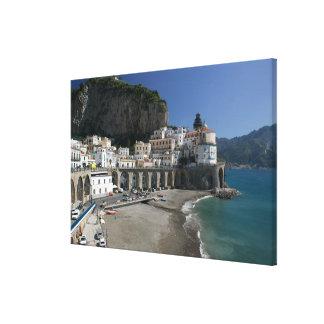 Europe, Italy, Campania, (Amalfi Coast), Amalfi: Canvas Print